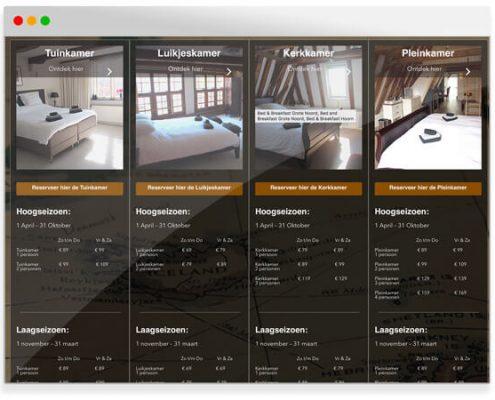 Bed & Breakfast Grote Noord Hilversum | Project Direct | Webdesign | Grafische vormgeving | SEO